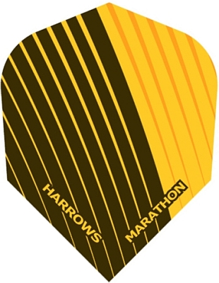 Harrows Marathon Dimplex Yellow Standard Dart Flight