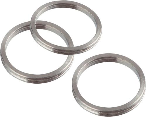 Target Titanium Pro Grip Ringe Rings Grau 3 St/ück