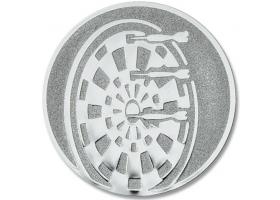 Pokal Emblem Dartscheibe Silber 22l858