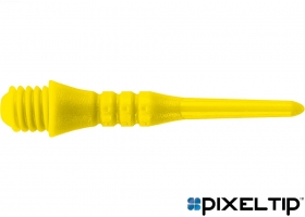 50 Tufflex Dartspitzen Schwarz Lang 26 mm kleines Gewinde 2BA