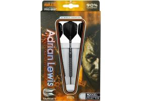 Target Adrian Lewis schwarz Titan Pixel Grip 90/% Tungsten Soft Tip Darts 18 Gramm