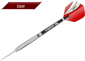 BULLS Steel-Dart-Set DOT D1 Wave Grip 24 gr (ZZNL)