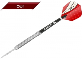 BULLS Steel-Dart-Set DOT D2 Wave Grip 22 gr (ZZNL)