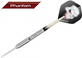 BULLS Steel-Dart-Set Phantom PT4 Shark & Fine-Ringed Grip 22 gr