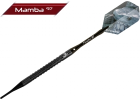 BULLS Soft-Dart-Set Mamba 97 M3 L-Slim-Shark Grip 18 gr