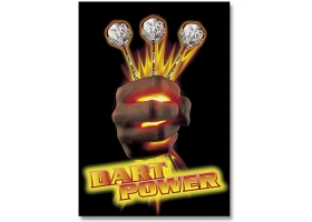 EMPIRE Dart-Poster DIN A2 Dart Power