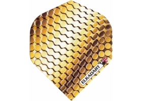 ELKADART Flight-Set Standard Polyester extra strong Titanium Gold