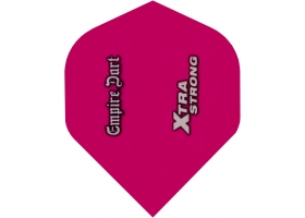 EMPIRE Flight-Set Standard Polyester Clear extra strong Xtra Pink