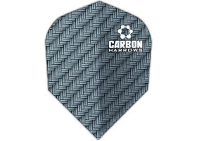 HARROWS Flight-Set Standard Carbon 1202 Blau