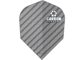 HARROWS Flight-Set Standard Carbon 1205 Silber
