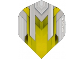 PROFIDART Flight-Set Standard Polyester Amazon Silver extra strong Yellow
