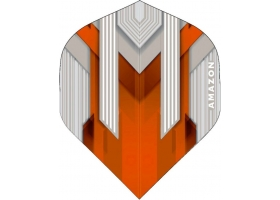 PROFIDART Flight-Set Standard Polyester Amazon Silver extra strong Orange