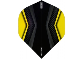 PROFIDART Flight-Set Standard Polyester Pentathlon Clear HD150 Yellow-Black