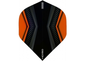 PROFIDART Flight-Set Standard Polyester Pentathlon Clear HD150 Orange-Black