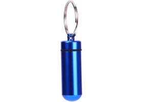 PROFIDART Dart Tips Case Box Mini Aluminium Blau