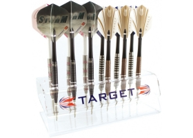 TARGET Dartständer Acryl Transparent Counter Display Unit