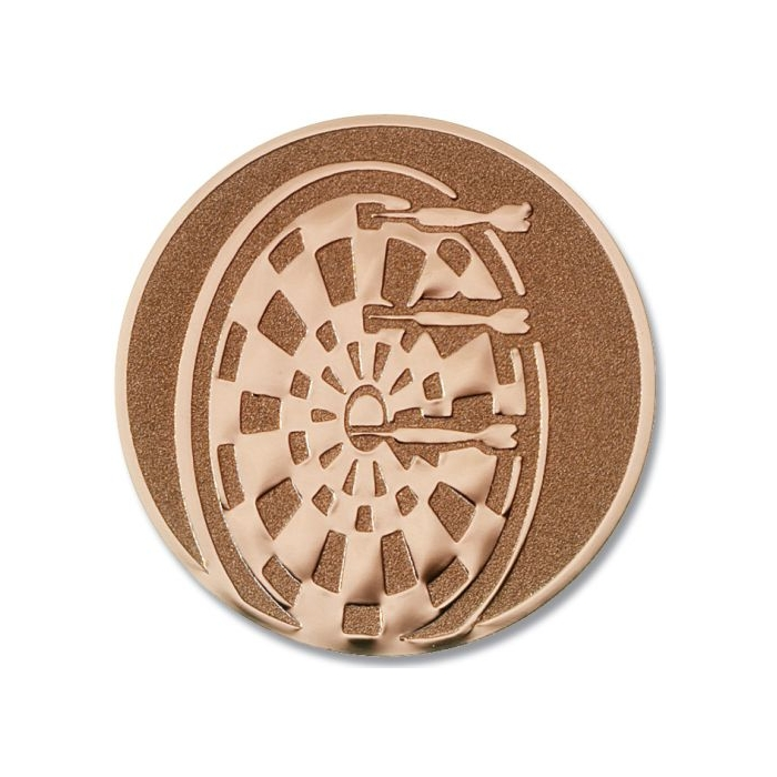 Pokal Emblem Dartscheibe Bronze 22l859