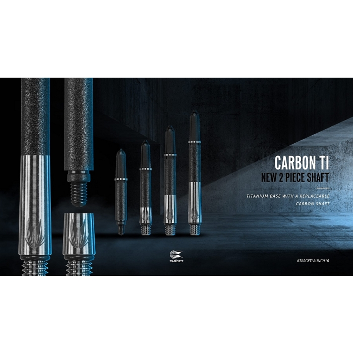 Target Carbon Titanium Pro Gold Sch/äfte