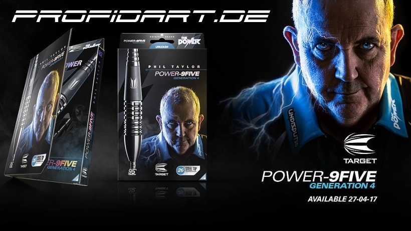 TARGET Darts Phil Taylor The Power Gen4